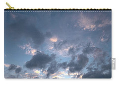 Carry-all Pouch featuring the photograph Variations Of Sunsets At Gulf Of Bothnia 5 by Jouko Lehto