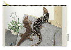 Varieties Of Wall Lizard Carry-all Pouch