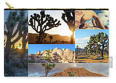 Variety Of Joshua Tree Collage Carry-all Pouch