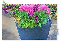 Vase And Flowers Series 05 Carry-all Pouch