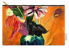 Vase With Flowers Carry-all Pouch