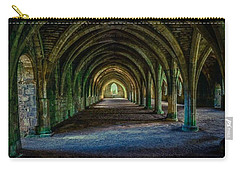 Vaulted, Fountains Abbey, Yorkshire, United Kingdom Carry-all Pouch
