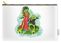 Vegas Frogs Lounge Act Carry-all Pouch