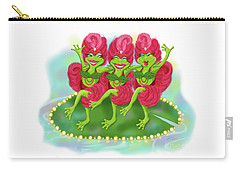 Vegas Frogs Showgirls Carry-all Pouch