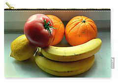 Vegetables And Fruits Carry-all Pouch