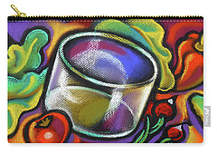 Vegetarian Food Carry-all Pouch by Leon Zernitsky