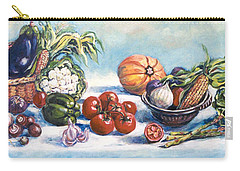 Veggies  Carry-all Pouch by Alexandra Maria Ethlyn Cheshire