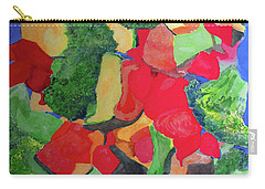 Carry-all Pouch featuring the painting Veggies Two by Sandy McIntire