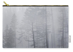 Carry-all Pouch featuring the photograph Veiled In Mist by Dustin LeFevre