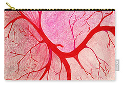Veins Within Carry-all Pouch