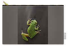 Carry-all Pouch featuring the photograph Velcro Feet by I'ina Van Lawick