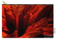 Velvet Seduction Carry-all Pouch by Sheila Ping