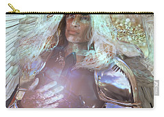 Carry-all Pouch featuring the painting Veneration by Suzanne Silvir