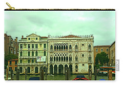Carry-all Pouch featuring the photograph Venetian Aternoon by Anne Kotan