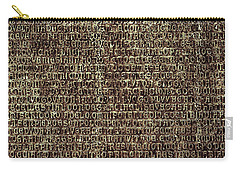 Carry-all Pouch featuring the photograph Venetian Babel by Anne Kotan
