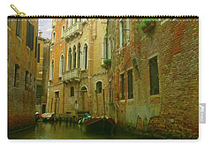 Carry-all Pouch featuring the photograph Venetian Canyon by Anne Kotan