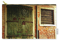 Carry-all Pouch featuring the photograph Venetian Graffiti by Anne Kotan
