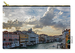 Carry-all Pouch featuring the photograph Venetian Sky by Jean Haynes