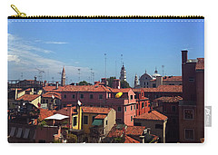Carry-all Pouch featuring the photograph Venetian Skyline by Anne Kotan