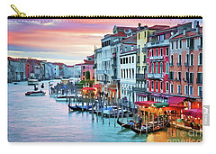 Venetian Sunset Carry-all Pouch