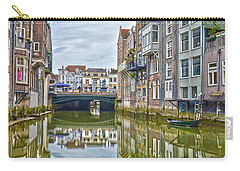 Carry-all Pouch featuring the photograph Venetian Vibe In Dordrecht by Frans Blok