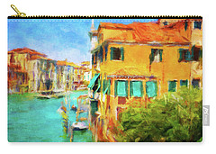 Carry-all Pouch featuring the photograph Venezia Afternoon by Connie Handscomb