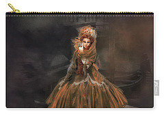 Carry-all Pouch featuring the photograph Veneziana D'oro I by Jack Torcello