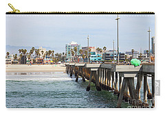 Venice Beach From The Pier Carry-all Pouch