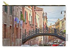 Venice Bridge Crossing 5 Carry-all Pouch