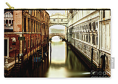 Venice Bridge Of Sighs Carry-all Pouch