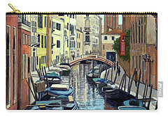 Venice Canal Reflections Carry-all Pouch