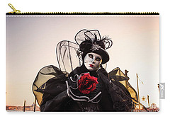 Venice Carnival '17 Carry-all Pouch by Yuri Santin
