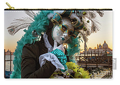 Carry-all Pouch featuring the photograph Venice Carnival II '17 by Yuri Santin