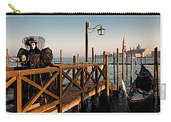 Carry-all Pouch featuring the photograph Venice Carnival IIi '17 by Yuri Santin