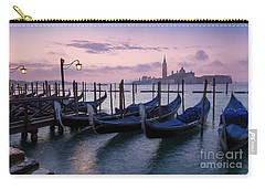 Carry-all Pouch featuring the photograph Venice Dawn II by Brian Jannsen