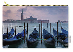 Carry-all Pouch featuring the photograph Venice Dawn IIi by Brian Jannsen