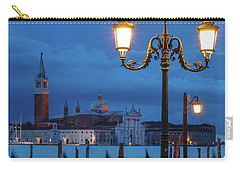 Carry-all Pouch featuring the photograph Venice Dawn V by Brian Jannsen