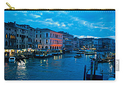Carry-all Pouch featuring the photograph Venice Evening by Eric Tressler