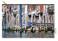 Carry-all Pouch featuring the photograph Venice Grand Canal by Allen Beatty