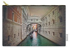 Venice Italy Bridge Of Sighs  Carry-all Pouch