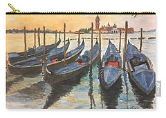 Carry-all Pouch featuring the painting Venice by Lucia Grilletto