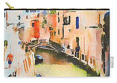 Venice On Waters Carry-all Pouch