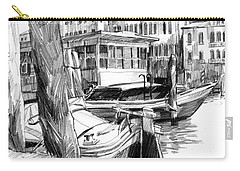 Venice Sketches. Vaporetto Jetty Carry-all Pouch