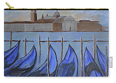 Carry-all Pouch featuring the painting Venice by Victoria Lakes