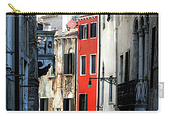 Carry-all Pouch featuring the photograph Venice Xx by Tom Prendergast
