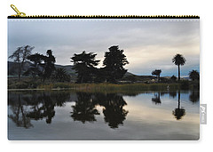 Carry-all Pouch featuring the photograph Ventura California Coast Estuary by Kyle Hanson
