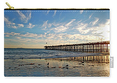 Ventura Pier At Sunset Carry-all Pouch