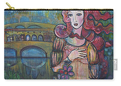 Venus And The Ponte Vecchio  Carry-all Pouch