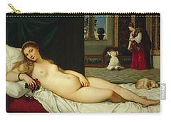 Venus Of Urbino  Carry-all Pouch