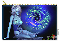 Carry-all Pouch featuring the digital art Venus by Shadowlea Is